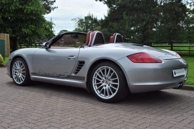 used gt silver porsche boxster for sale cheshire. Black Bedroom Furniture Sets. Home Design Ideas