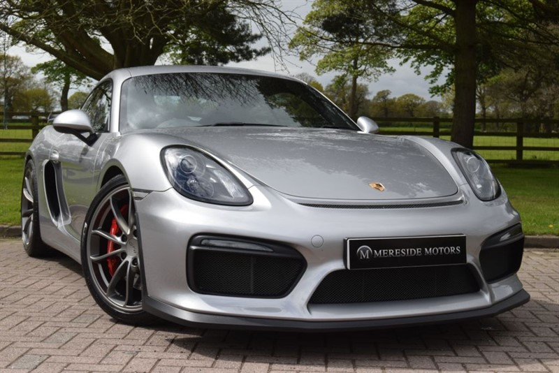 used Porsche Cayman GT4 in knutsford-cheshire