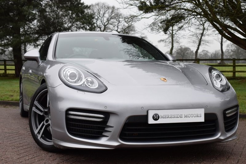 used Porsche Panamera V8 TURBO PDK in knutsford-cheshire