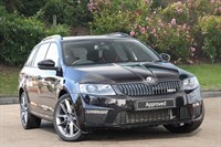 Used Skoda Octavia Estate TDI CR vRS 5dr DSG