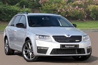 Used Skoda Octavia Estate TDI CR vRS 5dr DSG