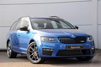 Used Skoda Octavia Estate TDI CR vRS 5dr