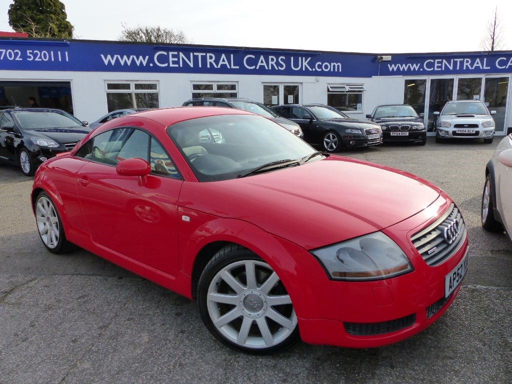 audi tt 1 8 quattro 225 bhp in metallic red for sale leigh on sea essex central cars leigh ltd. Black Bedroom Furniture Sets. Home Design Ideas