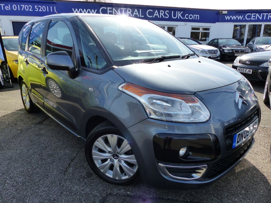 citroen c3 picasso 1 6 vtr plus hdi turbo diesel for sale leigh on sea essex central cars. Black Bedroom Furniture Sets. Home Design Ideas