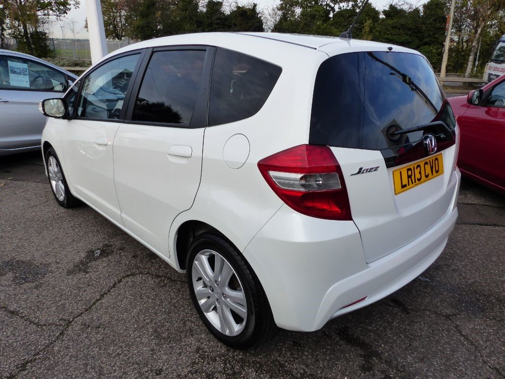 honda jazz 1 4 i vtec ex automatic 5 door in white for sale leigh on sea essex central. Black Bedroom Furniture Sets. Home Design Ideas