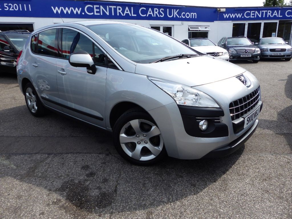 peugeot 3008 1 6 sport in silver for sale leigh on sea essex central cars leigh ltd. Black Bedroom Furniture Sets. Home Design Ideas