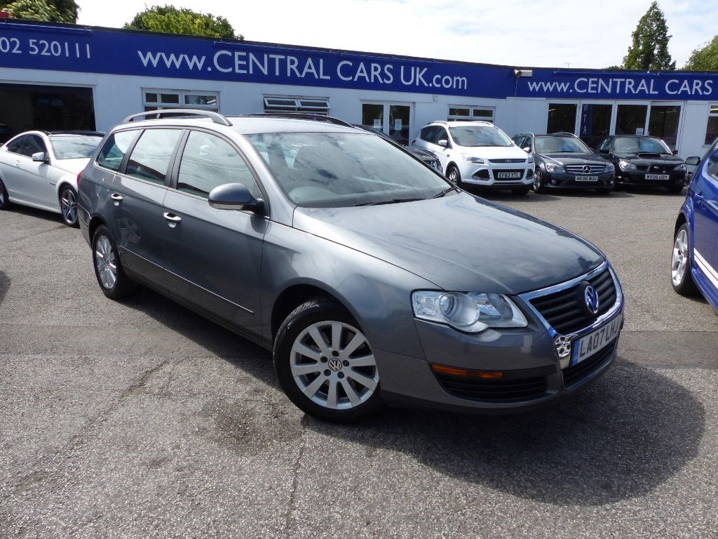 volkswagen passat 2 0 tdi s estate in metallic grey for sale leigh on sea essex central cars. Black Bedroom Furniture Sets. Home Design Ideas