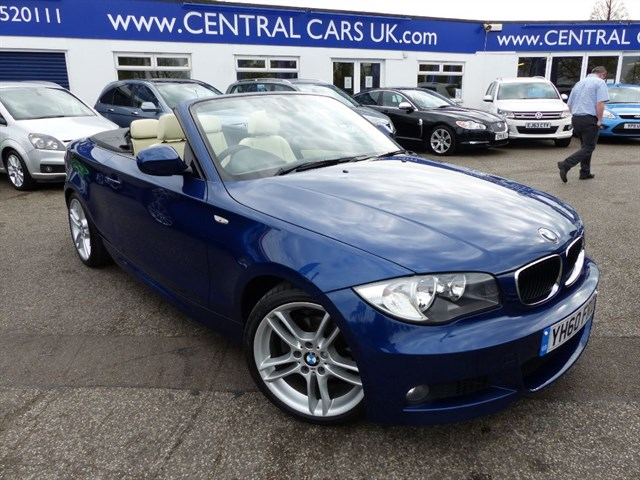 BMW 118d 20 M Sport Automatic Convertible Turbo Diesel