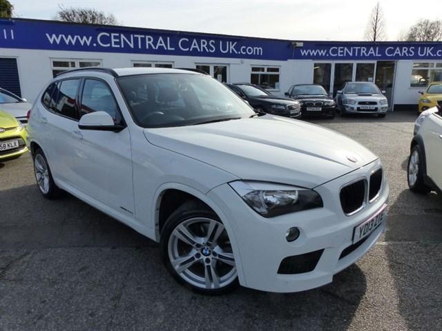 BMW X1 20 XDRIVE20D M SPORT In White