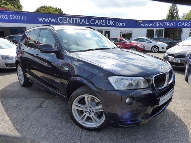 BMW X3 20 XDRIVE20D M SPORT In Metallic Black