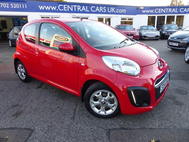 Citroen C1 10 Edition In Red