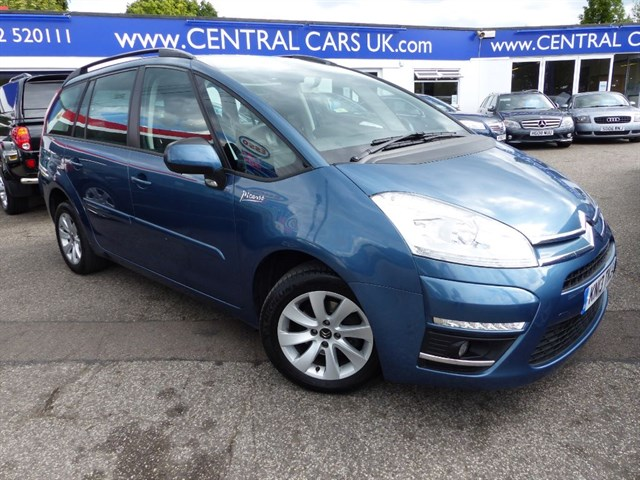 Citroen C4 Grand Picasso 16 Edition HDI 7 Seater In Metallic Blue