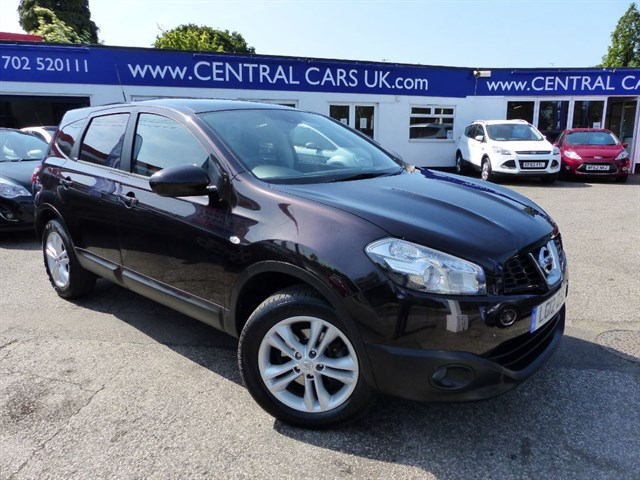 Nissan Qashqai 16 Acenta Plus 2 In Black