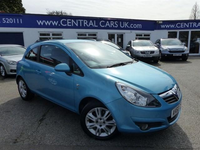Vauxhall Corsa 13 SE CDTI Turbo Diesel In Metallic Blue