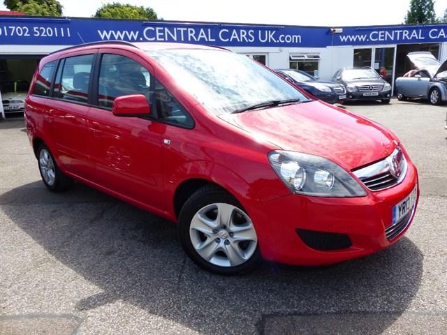 Vauxhall Zafira 17 EXCLUSIV NAV CDTI ECOFLEXIn Red