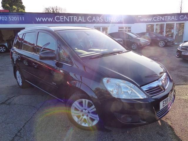 Vauxhall Zafira 18 Elite In Metallic Black