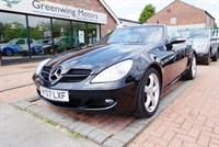 Used Mercedes SLK350 Convertible - 6 speed Manual