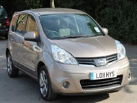 Used Nissan Note N-Tec