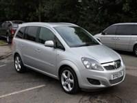 Used Vauxhall Zafira SRi (VVT)