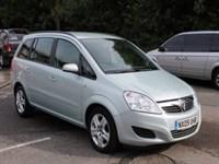 Used Vauxhall Zafira Exclusiv (Direct)
