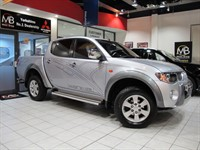 Used Mitsubishi L200 Double Cab DI-D Animal 4WD 158Bhp *FULL LEATHER**NO VAT*