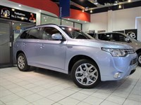 Used Mitsubishi Outlander PHEV GX4HS Auto *PLUG-IN HYBRID ELECTRIC VEHICLE*SAT NAV*LEATHER*