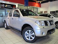 Used Nissan Navara Double Cab Pick Up Aventura 2.5dCi 4WD *SAT NAV*LEATHER*BLUETOOTH*LOW MILES