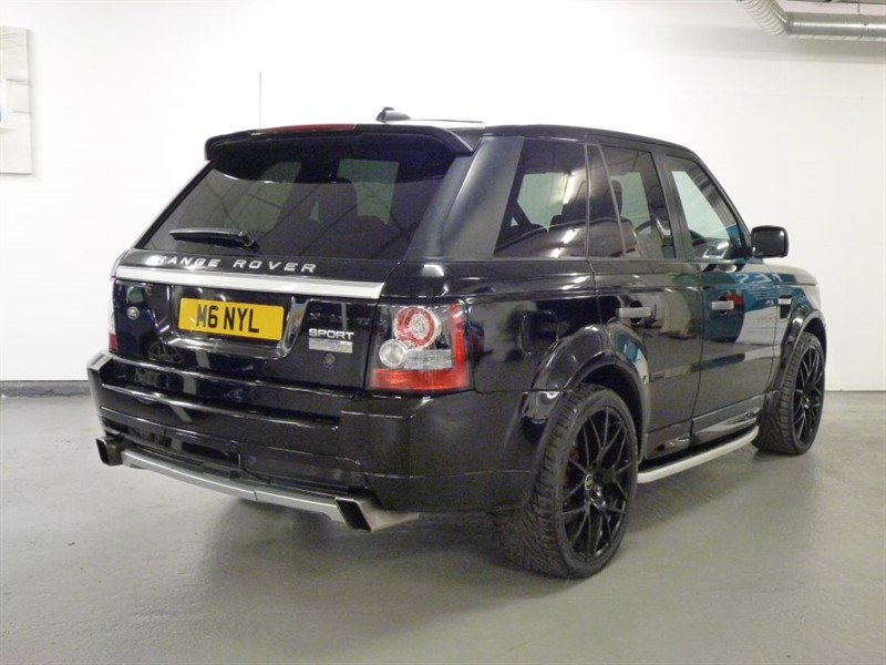 used land rover range rover sport 2 7 tdv6 hse 9 2010 autobiography conversion for sale in. Black Bedroom Furniture Sets. Home Design Ideas