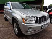 Used Jeep Grand Cherokee V6 CRD OVERLAND 2007 (57)