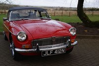 Used MG MGB 1.8 with Overdrive - Chrome bumper