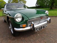 Used MG MGB Roadtser Chrome Bumper with Over-drive