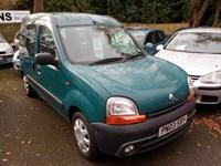 Used Renault Kangoo DISABILITY RAMP - AUTHENTIQUE 16V 2003