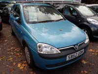 Used Vauxhall Corsa CLUB 12V 2002 (52)