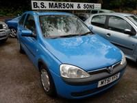 Used Vauxhall Corsa COMFORT 16V