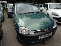 Used Vauxhall Corsa CLUB 16V 2002 (52)