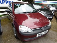 Used Vauxhall Corsa CLUB 12V 2002