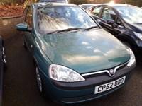 Used Vauxhall Corsa CLUB 16V 2002 (52)