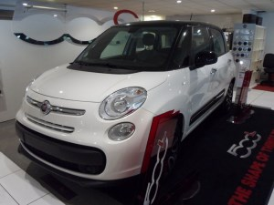 used Fiat 500 L THE NEW in staffordshire