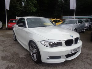 used BMW 118d SPORT PLUS EDITION 2013 in staffordshire