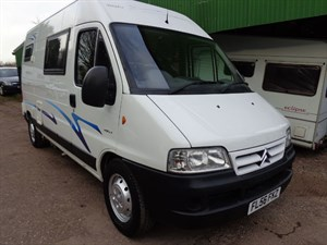 used Citroen Relay 1800TD LWB Motorhome H/R HDI in staffordshire