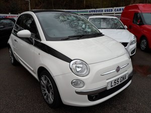 used Fiat 500 C LOUNGE 2010 in staffordshire