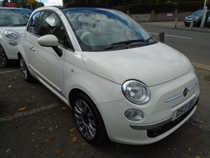 used Fiat 500 C LOUNGE 2013 in staffordshire