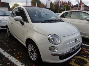 used Fiat 500 C LOUNGE 2013 (63) in staffordshire