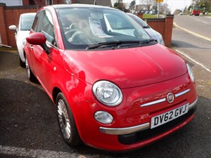 used Fiat 500 MULTIJET LOUNGE 2012 (62) in staffordshire