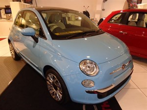 used Fiat 500 Lounge in staffordshire