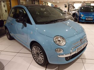 used Fiat 500 CULT - Delivery Miles - 2014 in staffordshire