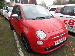 used Fiat 500 STREET 2012 (62) in staffordshire