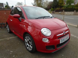 used Fiat 500 S in staffordshire