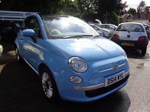 used Fiat 500 LOUNGE 2014 in staffordshire