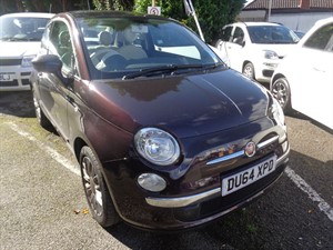used Fiat 500 LOUNGE 2014 (64) in staffordshire